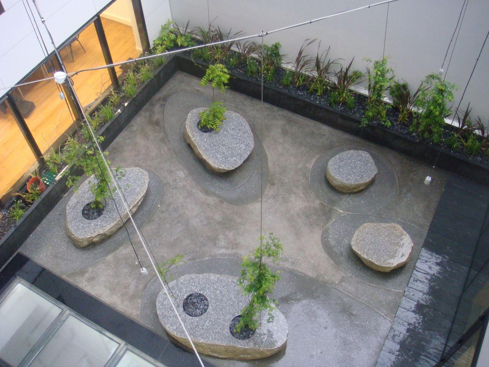 Cr ation de jardins sur terrasse par un paysagiste for Creation paysagiste
